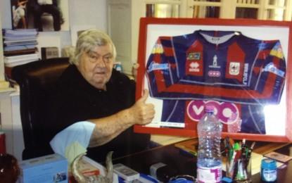 Notre maillot dans la collection de…Louis Nicollin !