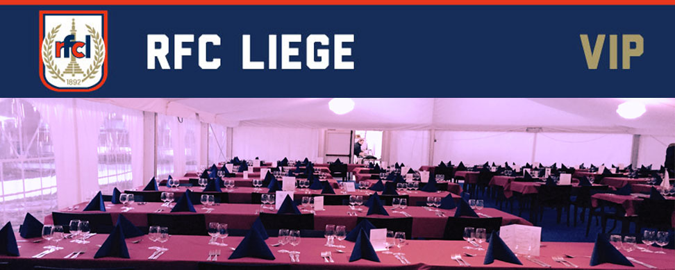 Espace VIP | RFC Liège – Charleroi Couillet Fleurus