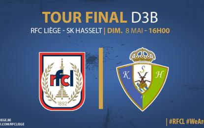 Prévente: RFC Liège – KSK Hasselt