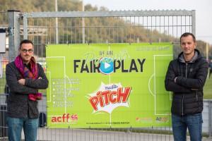 Arnaud Galère et Christian Deffet  |  Référents Vivons Sport du RFC Liège