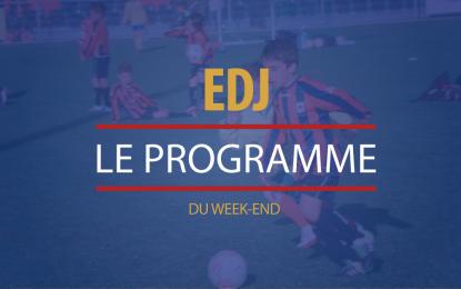 Programme du week-end | 8 et 9 octobre 2016
