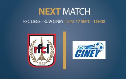 Espace VIP   RFC Liège – RUW Ciney