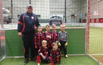 Trophée du Fair Play pour nos U6 à l'Indoor Cup.
