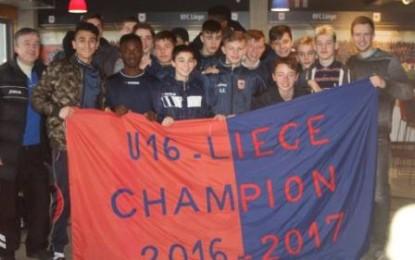 Nos U16 sont champions… avec la manière !