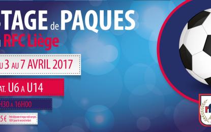 Stage de Pâques : une semaine 100% foot | Du 3 au 7 avril 2017