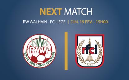 RW Walhain – RFC Liège | Dimanche 19 février 2017