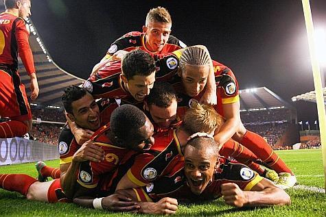 rencontre foot belge