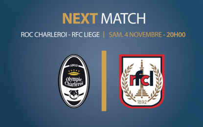 Olympic de Charleroi – RFC Liège | 4 novembre 2017 | Combi-car obligatoire