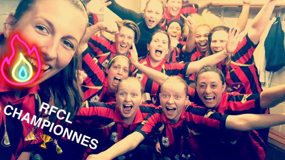 Nos filles sont championnes… Venez les fêter lors de leur dernier match…