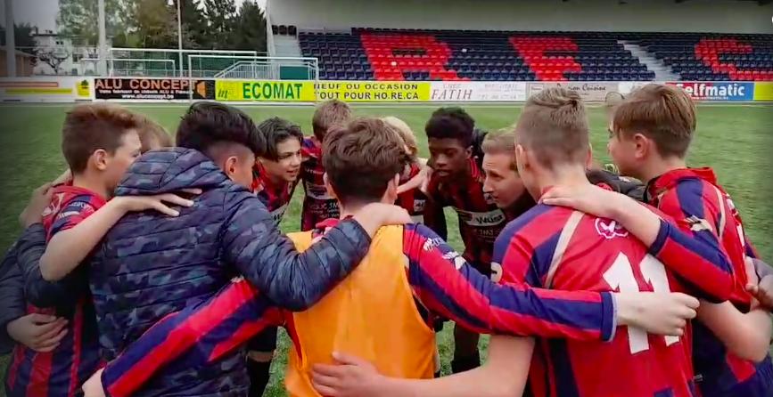 Nos U13 en demi-finale de la Coupe de Belgique…