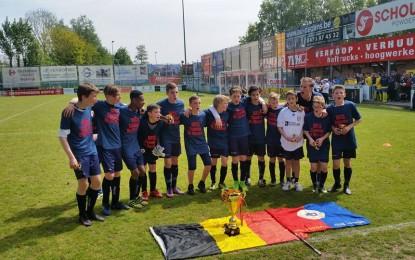 Nos U13 remportent la coupe de Belgique !