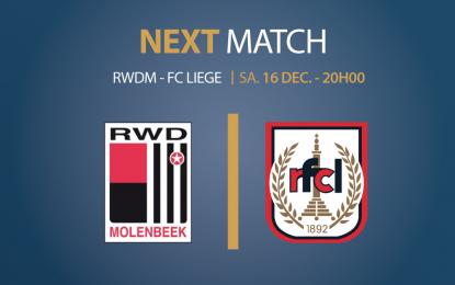 Vivez la rencontre RWDM – RFC Liège en direct sur RTC et sur Televesdre !