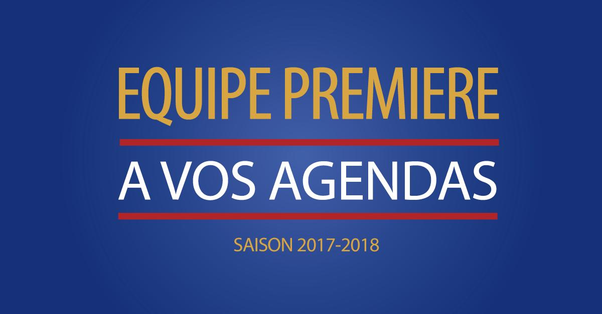 Equipe première | Agenda d'avant-saison.
