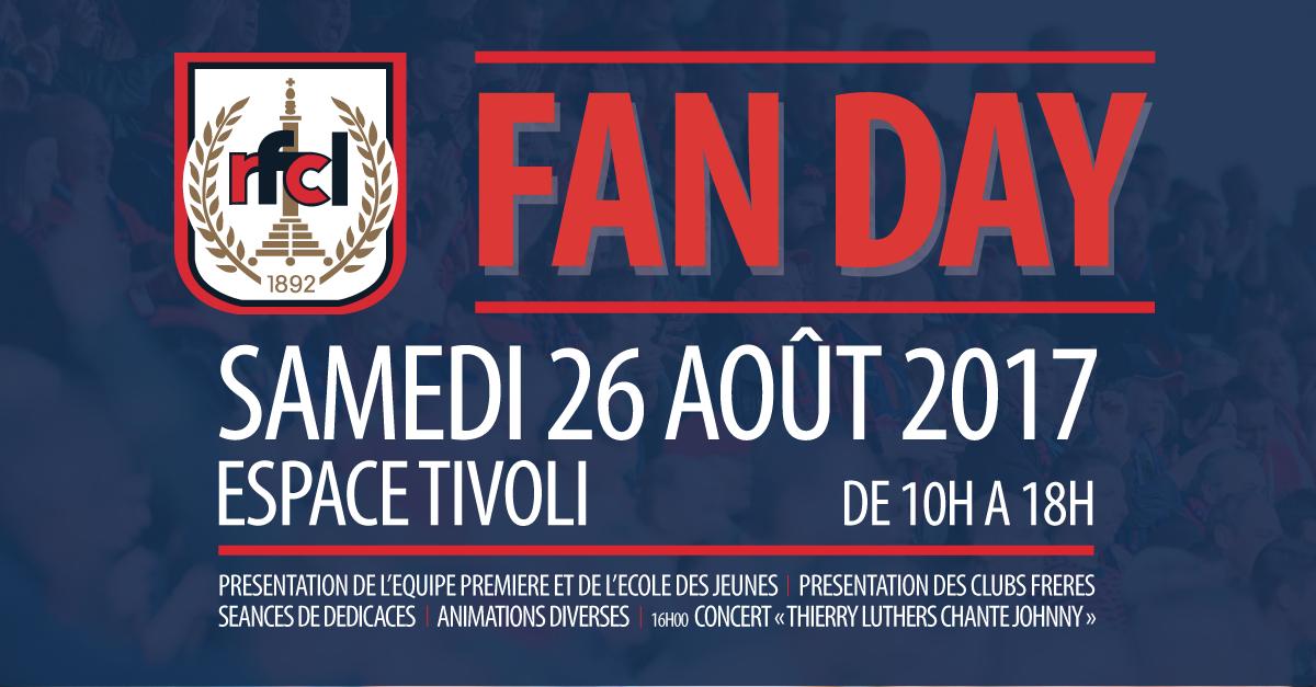 J-1 pour notre Fan Day !