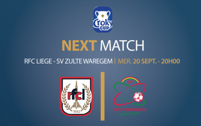 Espace VIP   RFC Liège – Zulte Waregem   20 septembre 2017 à 20h00