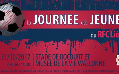 La Journée des Jeunes du RFC Liège – Inscris-toi vite !
