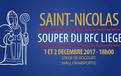 Rendez-vous avec le Grand Saint | 1er et 2 décembre 2017 | Stade de Rocourt