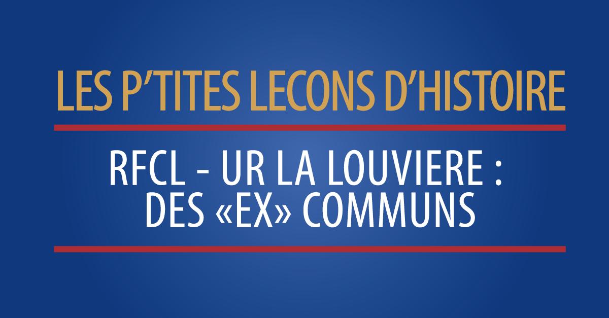 RFC Liège – UR La Louvière : des «ex» communs…