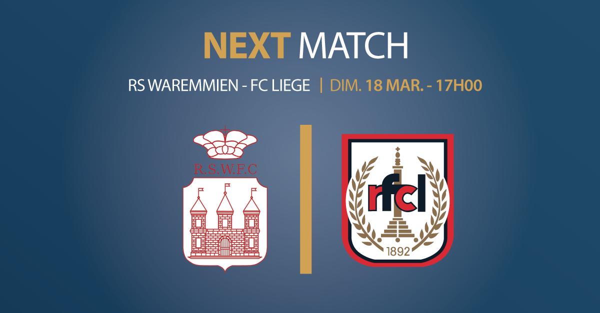 RS Waremmien – RFC Liège | Dim. 18 mars 2018