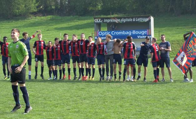 Nos U16 interpro sont champions !