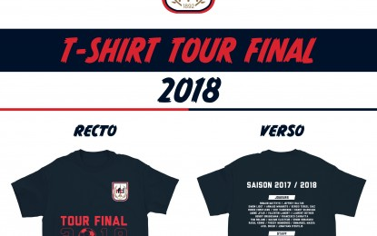 Dès jeudi, arborez le t-Shirt officiel du tour final !