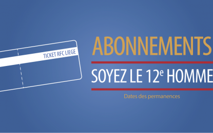Abonnements 2018-2019 : permanences
