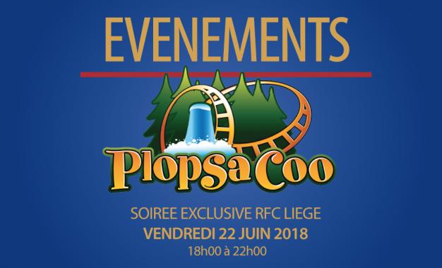 Plopsa Coo en Rouge et Bleu : nouvelles permanences pour le retrait des tickets