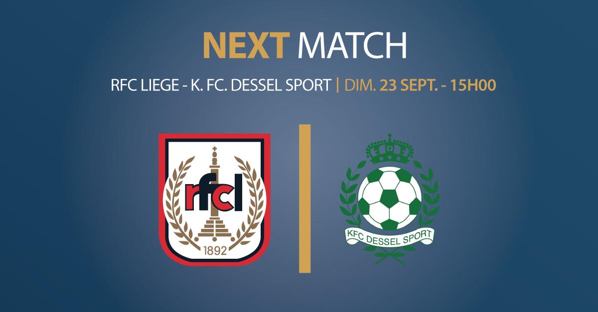 RFCL – K.FC. Dessel Sport | 23.09.2018 | 15h00