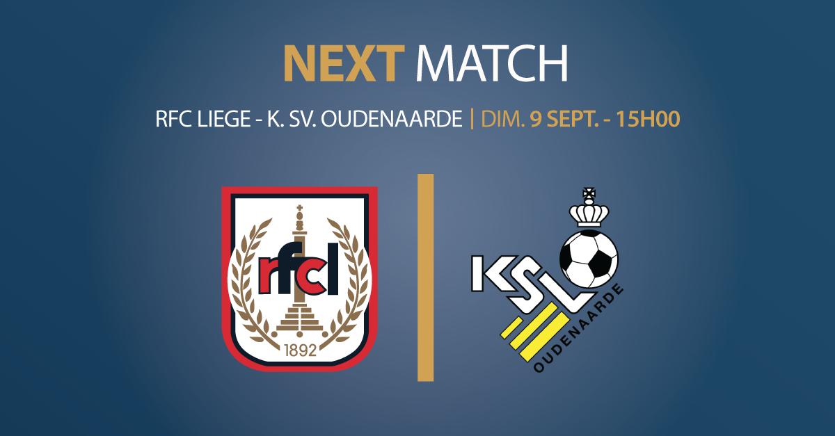 RFCL – K.SV. OUDENAARDE | 09.09.18 | 15h00 | STADE DE ROCOURT