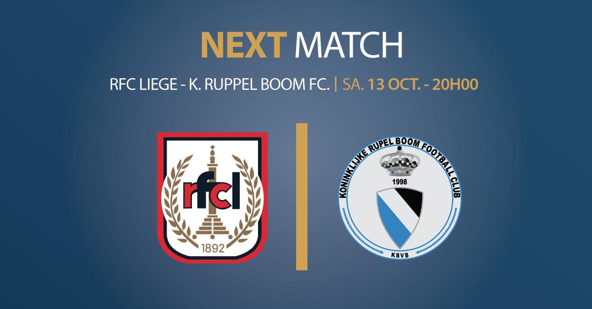 RFCL – K. RUPPEL BOOM FC | 13.10.18 | 20h00