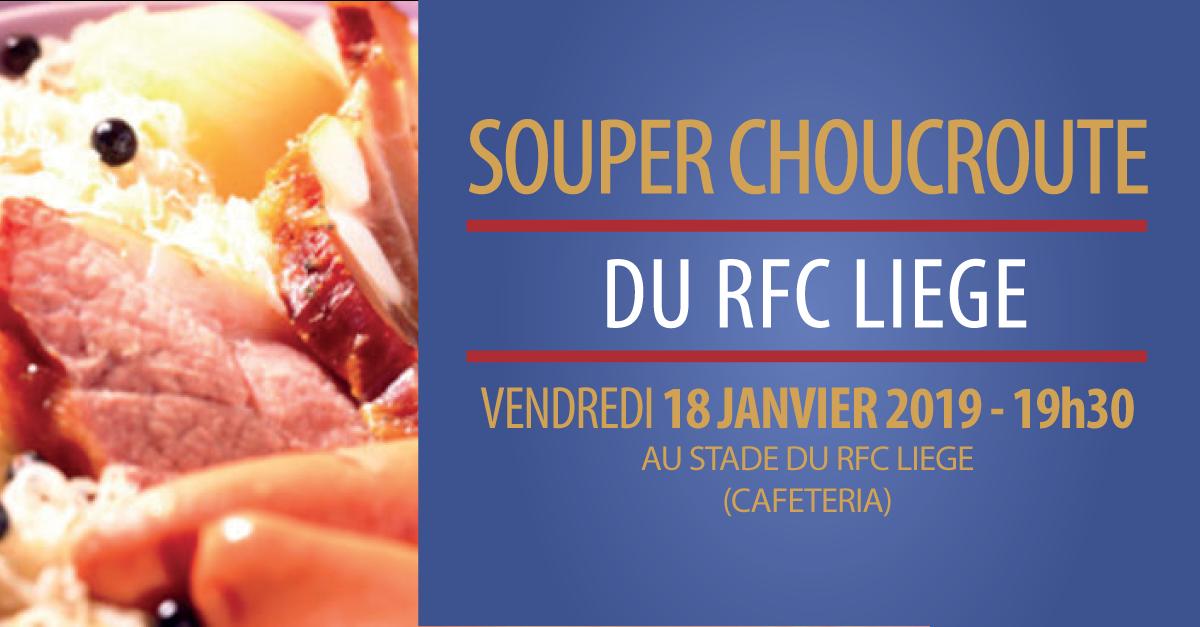Souper choucroute 18 janvier 2019