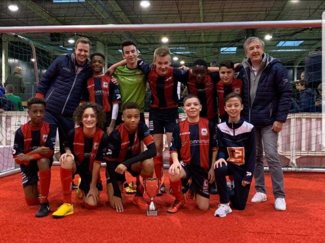 Victoire des U14A au Legia Indoor Challenge