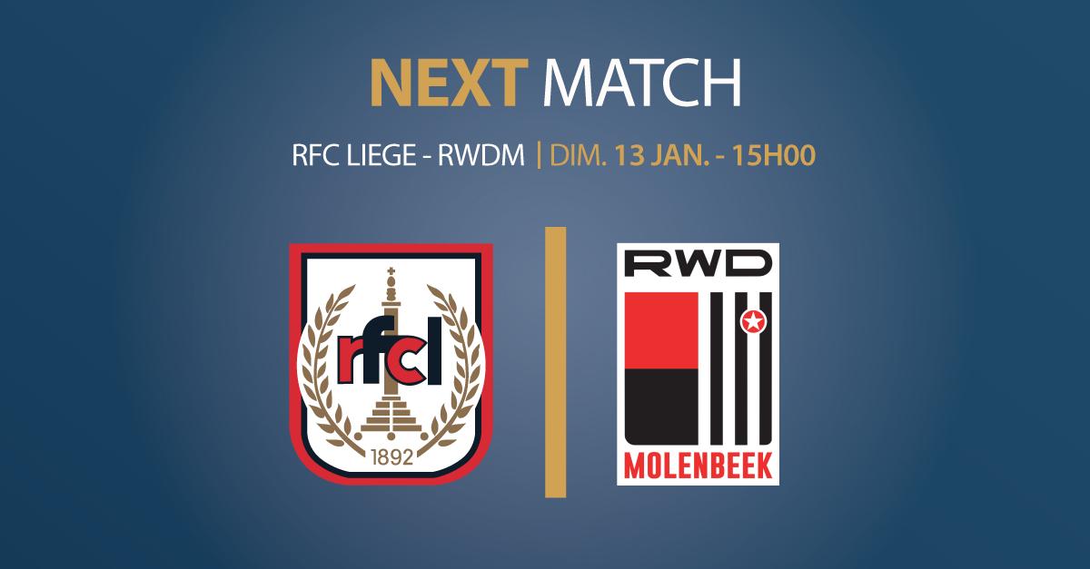 RFCL – RWDM | 13.01.2019 | RENCONTRE A GUICHET FERME – ACHAT DE TICKETS