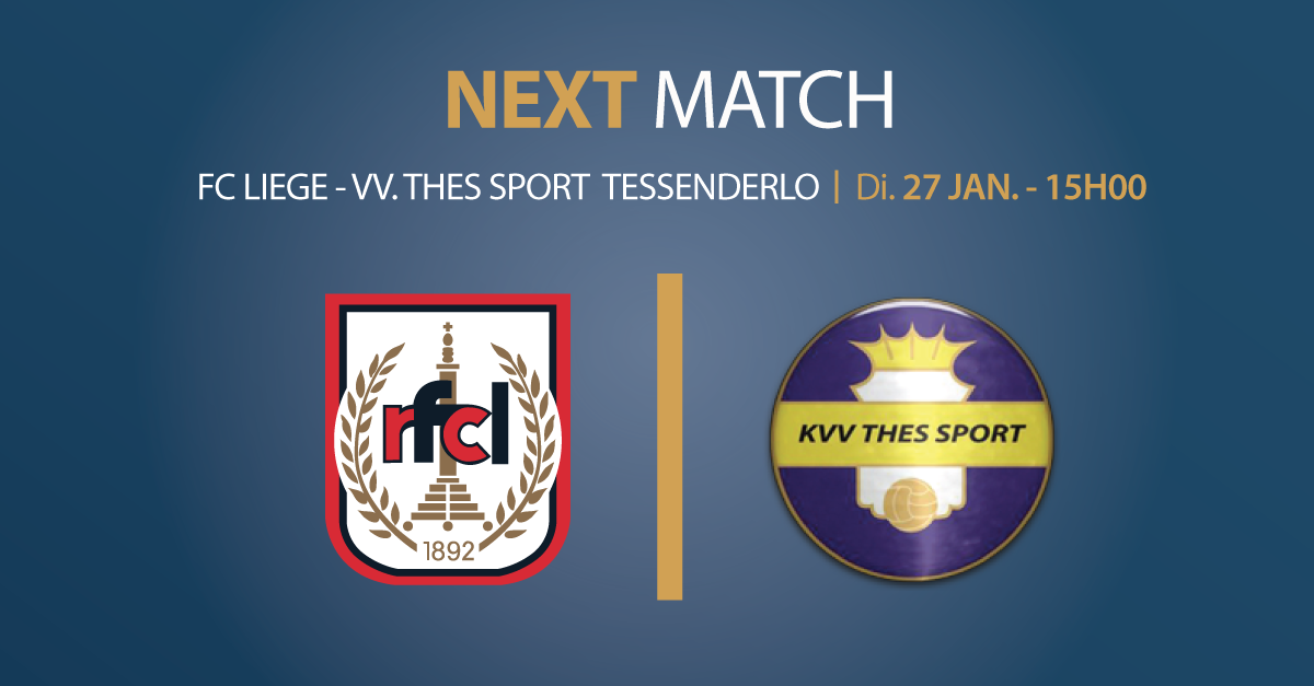 RFCL – VV. Thes Sport Tessenderlo | 27.01.2019 | 15h00