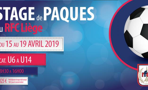 STAGE DE PAQUES | DU 15 AU 19 AVRIL 2019