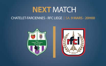 Châtelet-Farciennes – RFCL | 09.03.2019 | 20h00