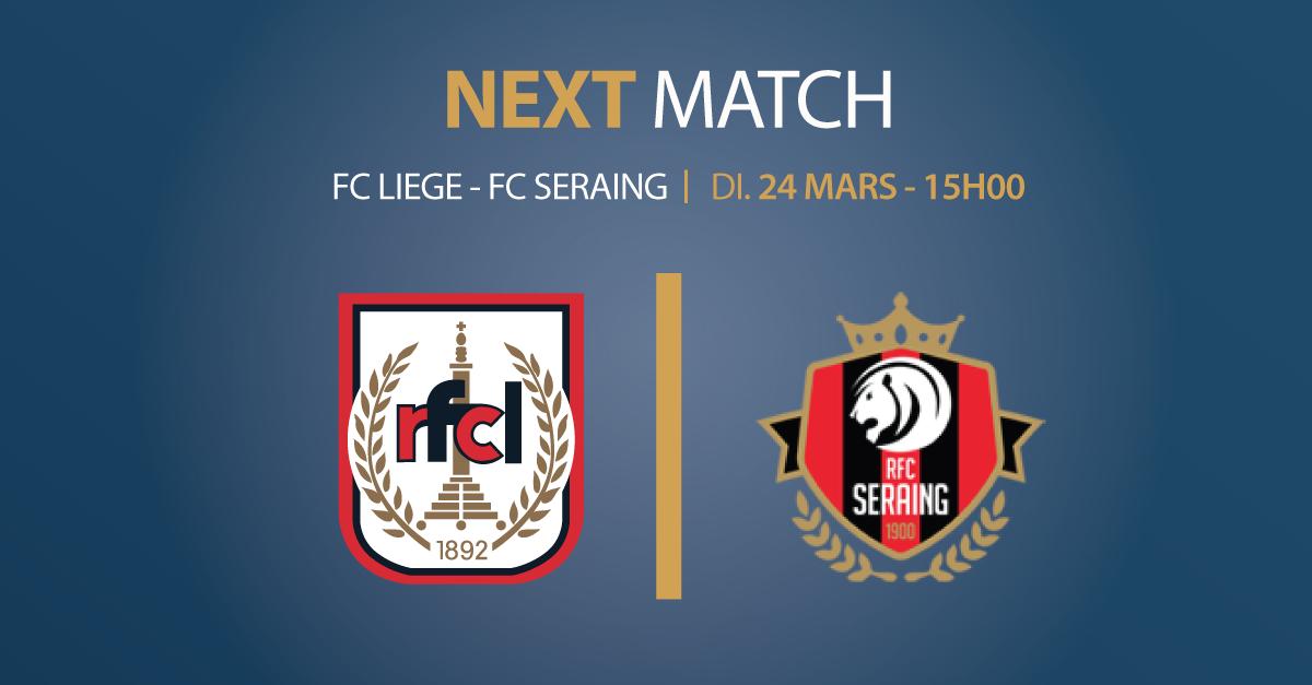 RFCL – FC Seraing | 24.03.2019 | 15h00