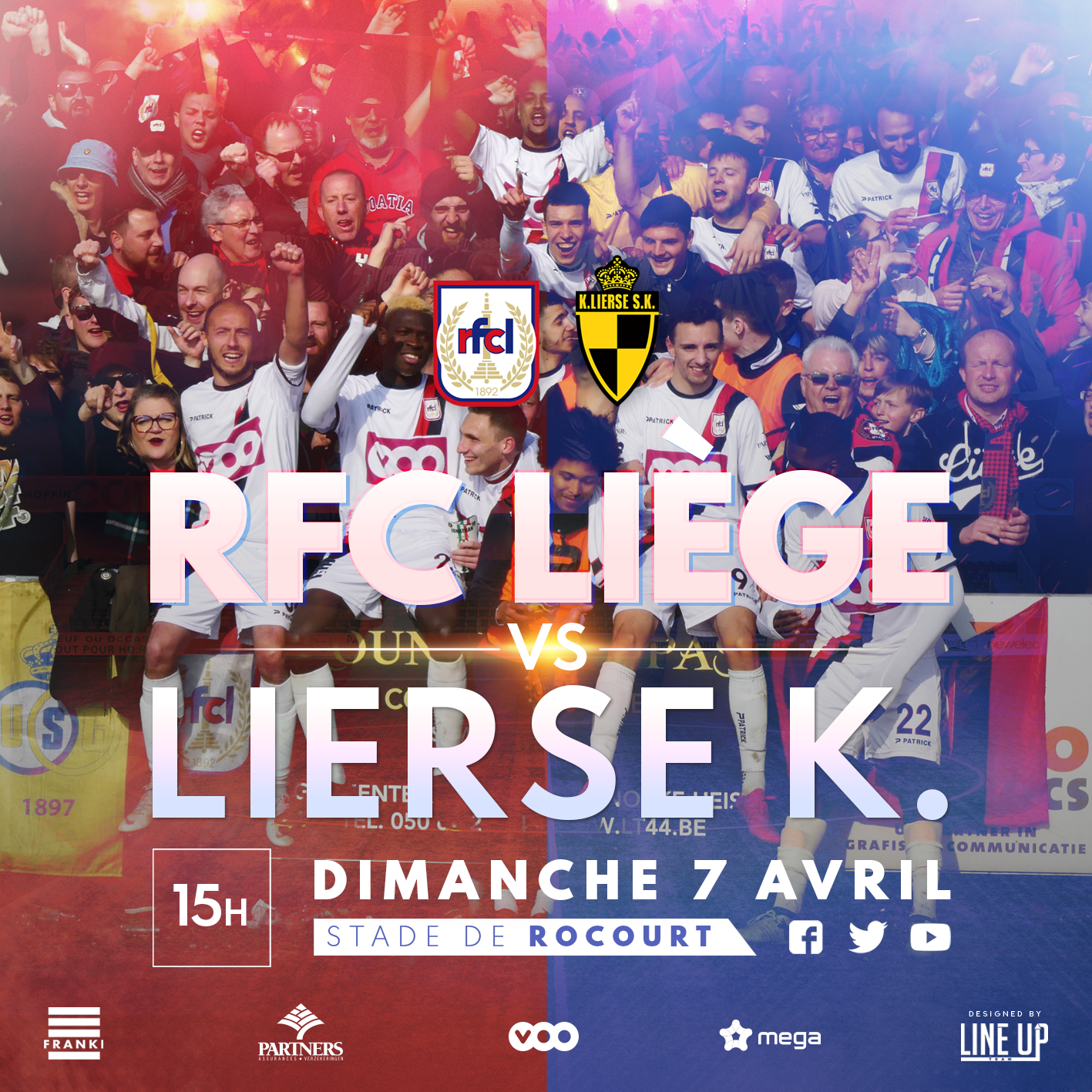 RFCL-Lierse | 07.04 | Infos supporters