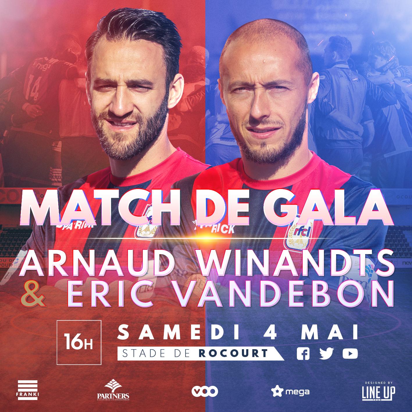 Match d'adieu | 04.05 | Infos pratiques