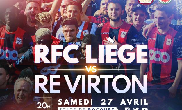RFCL-Virton | 27.04 | Préventes