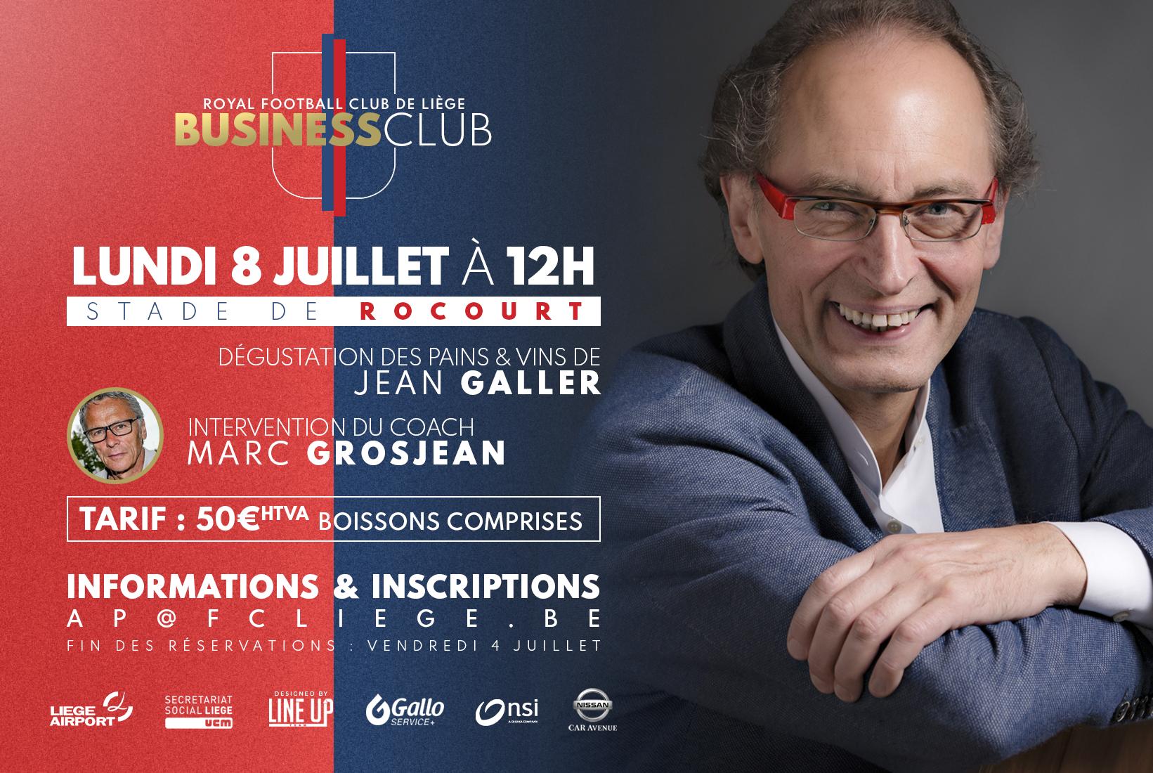 Business Club 1892 | 08.07 | Déjeuner-conférence
