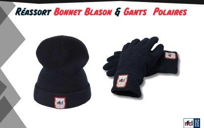Fanshop | Bonnet et gants de retour