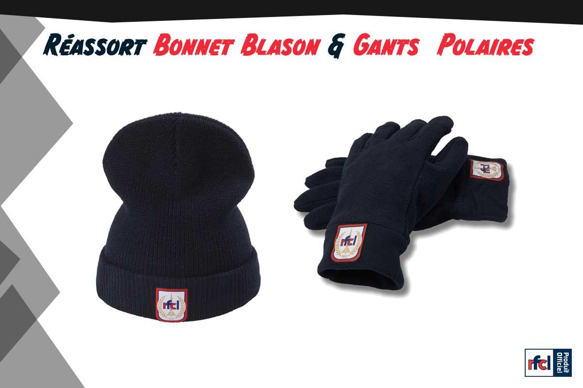 Fanshop   Bonnet et gants de retour