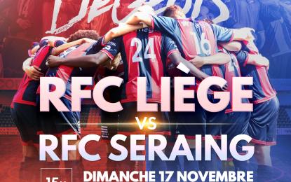 RFCL-Seraing | 17.11 | Préventes