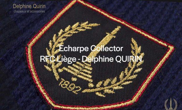 Fanshop | Écharpe collector Delphine Quirin