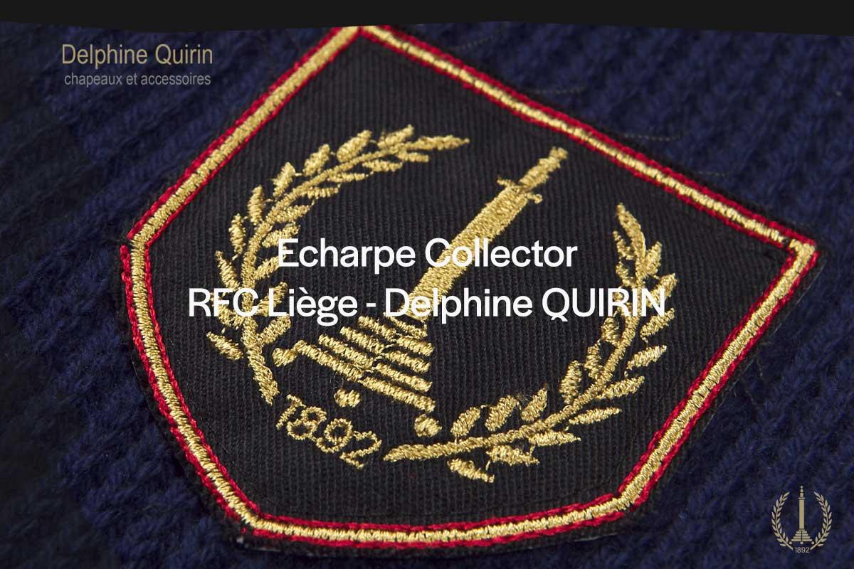 Fanshop   Écharpe collector Delphine Quirin