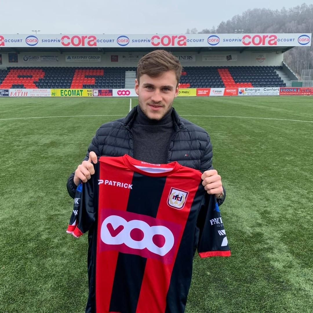 Nathanaël Frenoy prêté au RFC Liège