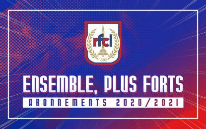 Abonnements 2020-2021 | Ensemble, plus forts !