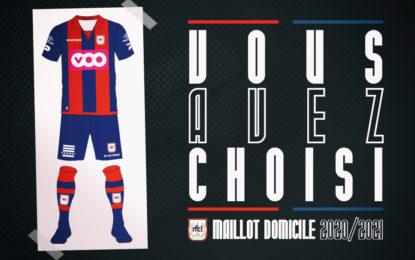 Sondage | Vous avez choisi le maillot 2020-2021 !