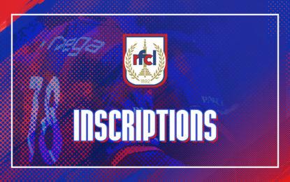 Supporters | Inscriptions pour l'entraînement du 4 juillet